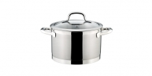 Deep pot PRESIDENT with cover ø 20 cm, 4.0 l
