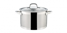 Deep pot PRESIDENT with cover ø 24 cm, 7.0 l