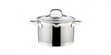 Deep pot PRESIDENT with straining cover ø 20 cm, 4.0 l