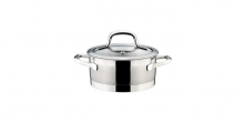 Casserole PRESIDENT with cover ø 16 cm, 1.5 l