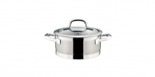 Casserole PRESIDENT with cover ø 18 cm, 2.0 l