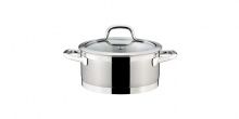 Casserole PRESIDENT with cover ø 20 cm, 3.0 l