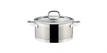 Casserole PRESIDENT with cover ø 22 cm, 4.0 l