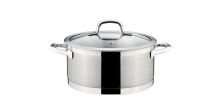 Casserole PRESIDENT with cover ø 24 cm, 5.0 l