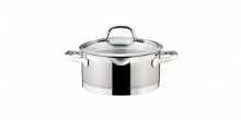 Casserole PRESIDENT with straining cover ø 20 cm, 3.0 l