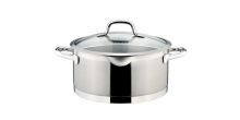 Casserole PRESIDENT with straining cover ø 24 cm, 5.0 l
