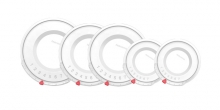 Plastic covers UNICOVER, 5 pcs, for cookware sets HOME PROFI