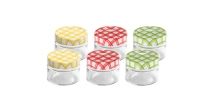 Preserving jars DELLA CASA 125 ml, 6 pcs