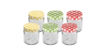Preserving jars DELLA CASA 200 ml, 6 pcs
