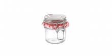 Preserving jar with flip-top closure DELLA CASA 200 ml