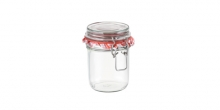 Preserving jar with flip-top closure DELLA CASA 350 ml