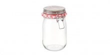 Preserving jar with flip-top closure DELLA CASA 1000 ml