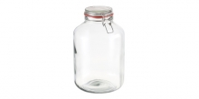 Preserving jar with flip-top closure DELLA CASA 5000 ml