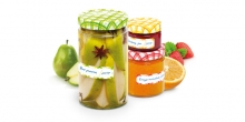 Label for jars DELLA CASA, 24 pcs