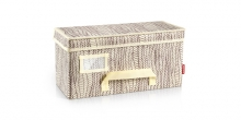 Clothing storage box FANCY HOME 40 x 18 x 20 cm