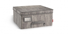 Clothing storage box FANCY HOME 40 x 35 x 20 cm