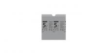 Затяжные мешки для мусорных ведер CLEAN KIT 5 л, 15 шт