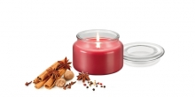 Scented candle FANCY HOME 200 g, Exotic spices