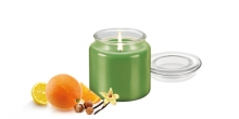 Scented candle FANCY HOME 410 g, Argan blossoms