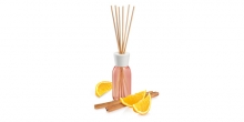 Scent diffuser FANCY HOME 120 ml, Orange & cinnamon