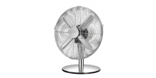 Ventilatore da tavolo FANCY HOME ø 30 cm, cromato