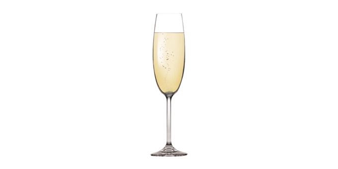 Sklenice na šampaňské CHARLIE 220 ml, 6 ks