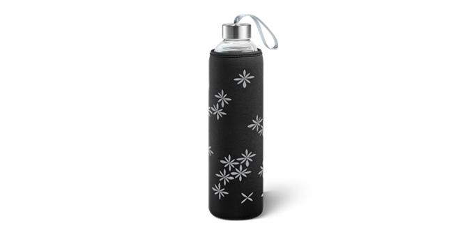 Szklana butelka w pokrowcu termicznym myDRINK 0,7 l