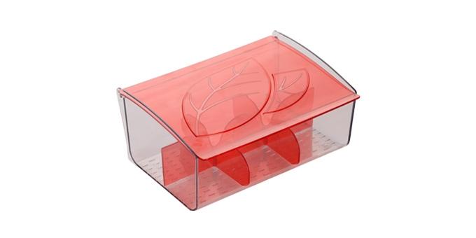 TESCOMA zásobník na čajové sáčky myDRINK, červená