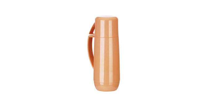 TESCOMA termoska s hrníčkem FAMILY PASTEL 1.0 l, oranžová