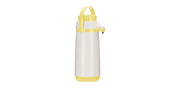 TESCOMA termoska s pumpičkou FAMILY PASTEL 1.7 l, žlutá