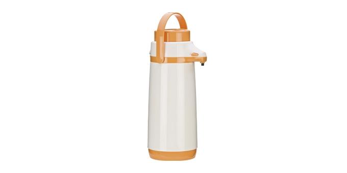TESCOMA termoska s pumpičkou FAMILY PASTEL 1.7 l, oranžová