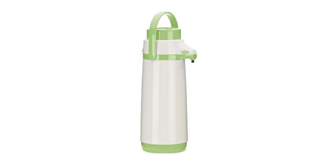 TESCOMA termoska s pumpičkou FAMILY PASTEL 1.7 l, světle zelená