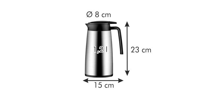 Termoska s dávkovacím uzáverom CONSTANT 1.2 l 1c5d1932048