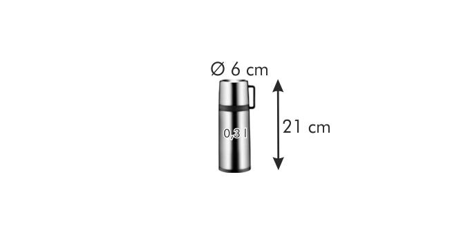Termoska s hrnčekom CONSTANT 0.3 l d5e86970b63