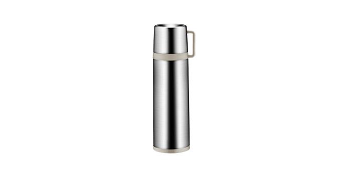 Thermosflasche mit Tasse CONSTANT MOCCA 0.7 l, aus Edelstahl