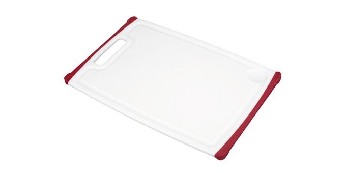 TESCOMA krájecí deska COSMO 40x26 cm, červená