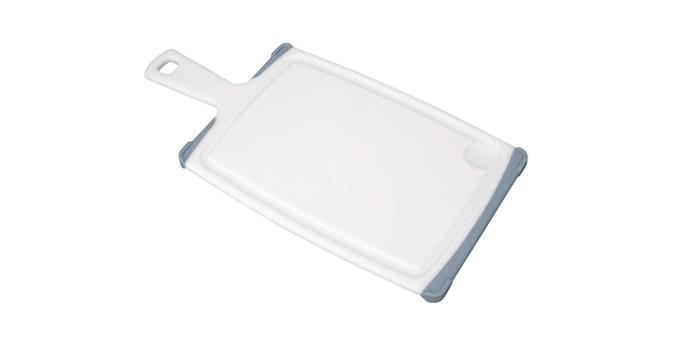 TESCOMA krájecí deska s rukojetí COSMO 35x18 cm, šedá
