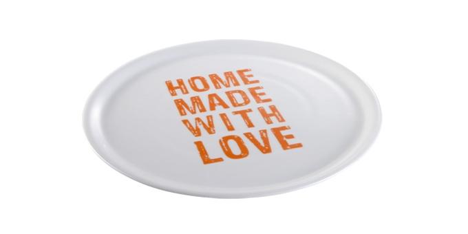 TESCOMA talíř na pizzu HOME MADE WITH LOVE ø 33 cm, oranžová