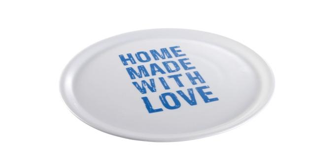 TESCOMA talíř na pizzu HOME MADE WITH LOVE ø 33 cm, modrá