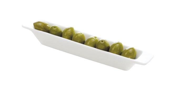 Olivenschiffchen GUSTITO, 24 x 4 cm