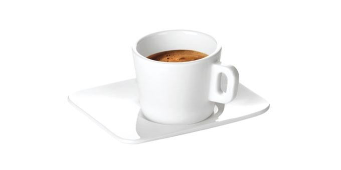 Espressotasse GUSTITO, mit Untertasse