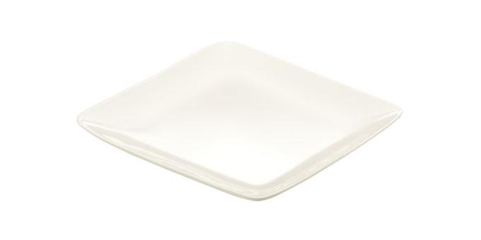 Dezertní talíř CREMA 20x20 cm