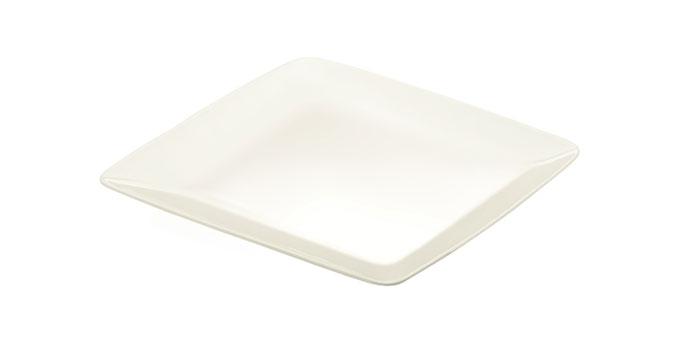 Plytký tanier CREMA 27 x 27 cm