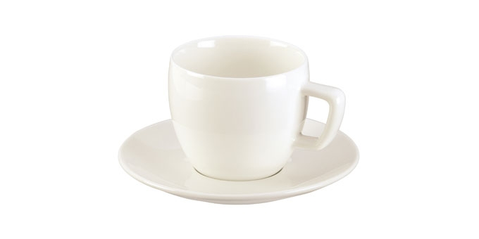 Chávena de cappuccino CREMA, c/ pires