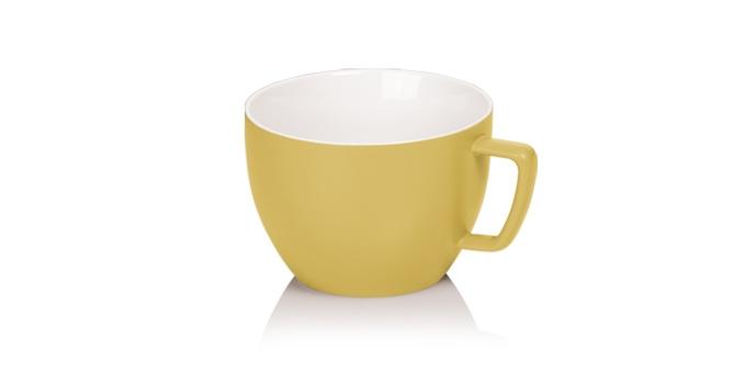 TESCOMA opravdu velký hrnek CREMA TONE 550 ml, žlutá