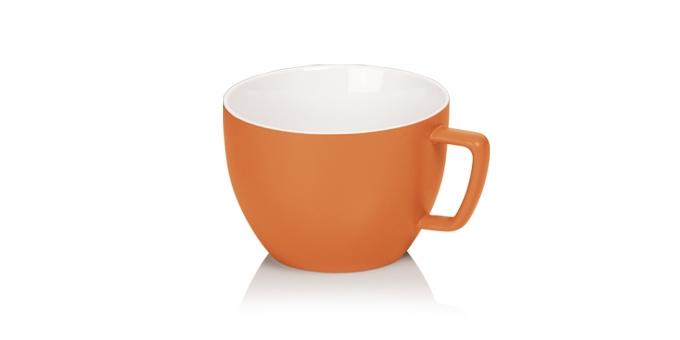 TESCOMA opravdu velký hrnek CREMA TONE 550 ml, oranžová