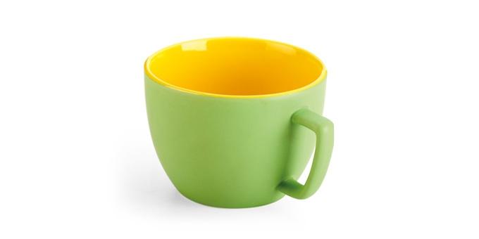 Extragroße Tasse CREMA 2TONE