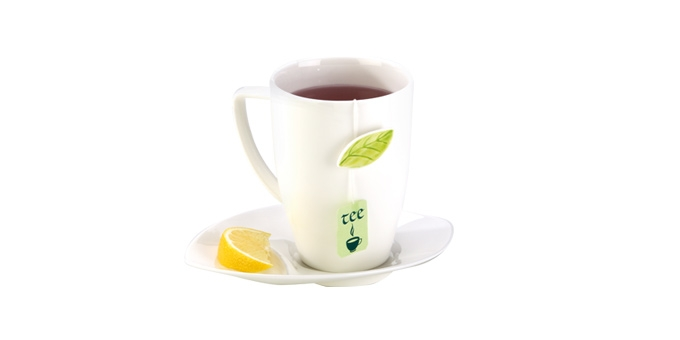 TESCOMA hrnek na čaj s podšálkem YASMIN