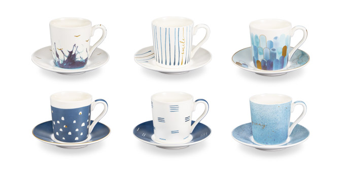 Fotografie Tescoma šálek na espresso s podšálkem myCOFFEE, 6 ks, Deep blue