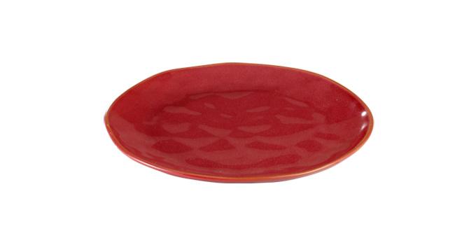 TESCOMA dezertní talíř LIVING ø 21 cm, červená